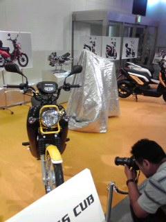 ホンダ、新しいバイクの発表?
